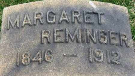 REMINGER, MARGARET - Erie County, Ohio | MARGARET REMINGER - Ohio Gravestone Photos