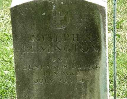 REMINGTON, JOSEPH N. - Erie County, Ohio | JOSEPH N. REMINGTON - Ohio Gravestone Photos
