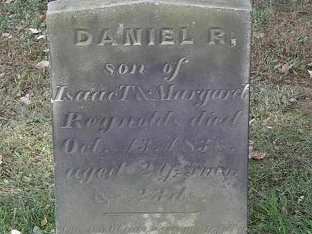REYNOLDS, DANIEL R. - Erie County, Ohio | DANIEL R. REYNOLDS - Ohio Gravestone Photos