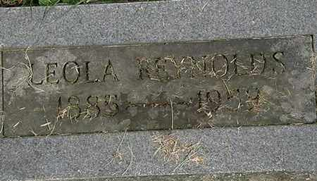 REYNOLDS, LEOLA - Erie County, Ohio | LEOLA REYNOLDS - Ohio Gravestone Photos