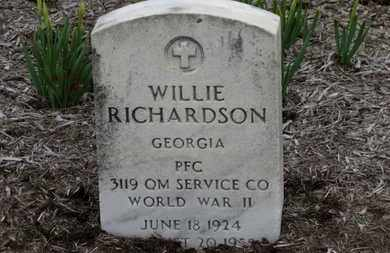 RICHARDSON, WILLIE - Erie County, Ohio | WILLIE RICHARDSON - Ohio Gravestone Photos