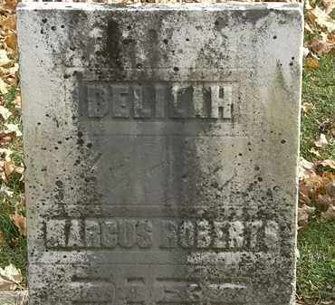 ROBERTS, DELILIH - Erie County, Ohio | DELILIH ROBERTS - Ohio Gravestone Photos