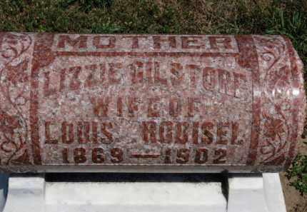 RODISEL, LIZZIE - Erie County, Ohio | LIZZIE RODISEL - Ohio Gravestone Photos