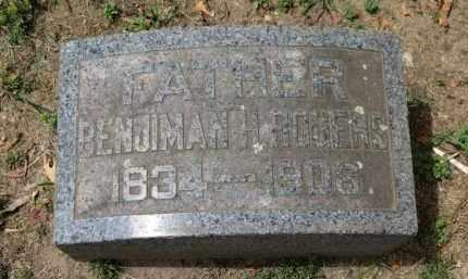 ROGERS, BENJIMAN H. - Erie County, Ohio | BENJIMAN H. ROGERS - Ohio Gravestone Photos