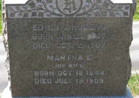 ROGERS, MARTHA E. - Erie County, Ohio | MARTHA E. ROGERS - Ohio Gravestone Photos