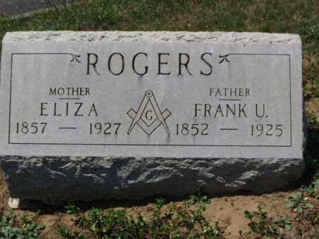 ROGERS, ELIZA - Erie County, Ohio | ELIZA ROGERS - Ohio Gravestone Photos