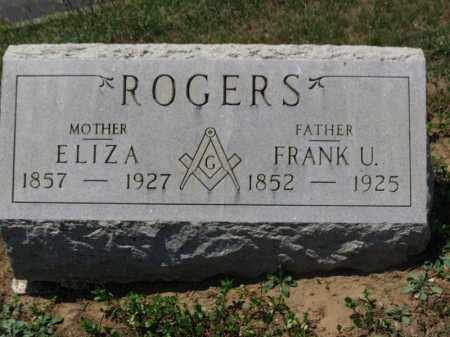 ROGERS, FRANK U. - Erie County, Ohio | FRANK U. ROGERS - Ohio Gravestone Photos