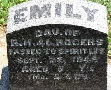 ROGERS, R.H. - Erie County, Ohio | R.H. ROGERS - Ohio Gravestone Photos