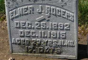 ROGERS, ELMER J. - Erie County, Ohio | ELMER J. ROGERS - Ohio Gravestone Photos