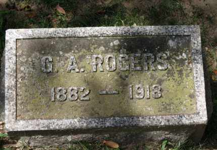 ROGERS, G.A. - Erie County, Ohio | G.A. ROGERS - Ohio Gravestone Photos