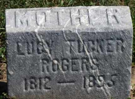 ROGERS, LUCY TUCKER - Erie County, Ohio | LUCY TUCKER ROGERS - Ohio Gravestone Photos