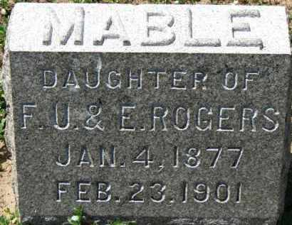 ROGERS, MABLE - Erie County, Ohio | MABLE ROGERS - Ohio Gravestone Photos