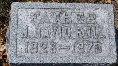 ROLL, J. DAVID - Erie County, Ohio | J. DAVID ROLL - Ohio Gravestone Photos