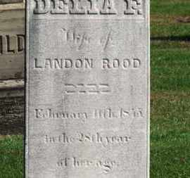 ROOD, LANDON - Erie County, Ohio | LANDON ROOD - Ohio Gravestone Photos