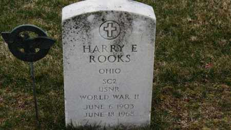 ROOKS, HARRY E. - Erie County, Ohio | HARRY E. ROOKS - Ohio Gravestone Photos