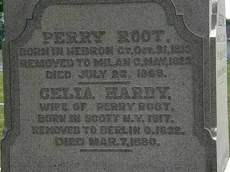 HARDY ROOT, CELIA - Erie County, Ohio | CELIA HARDY ROOT - Ohio Gravestone Photos