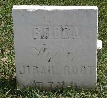 ROOT, JIRAH - Erie County, Ohio | JIRAH ROOT - Ohio Gravestone Photos