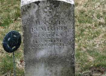 RUMFORD, JESSE R. - Erie County, Ohio | JESSE R. RUMFORD - Ohio Gravestone Photos