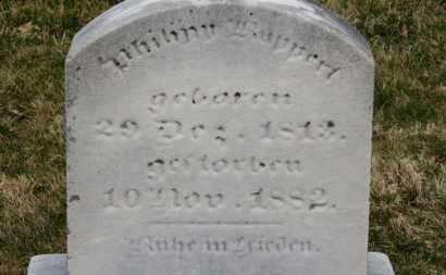 RUPPERT, PHILIPP - Erie County, Ohio | PHILIPP RUPPERT - Ohio Gravestone Photos