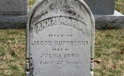 RUPPRECHT, ANNA MARIA - Erie County, Ohio | ANNA MARIA RUPPRECHT - Ohio Gravestone Photos
