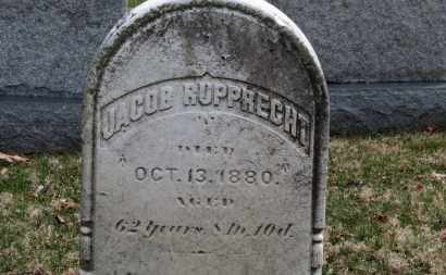 RUPPRECHT, JACOB - Erie County, Ohio | JACOB RUPPRECHT - Ohio Gravestone Photos