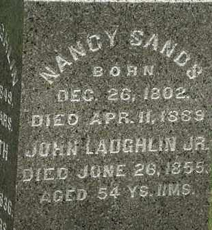 SANDS, NANCY - Erie County, Ohio | NANCY SANDS - Ohio Gravestone Photos