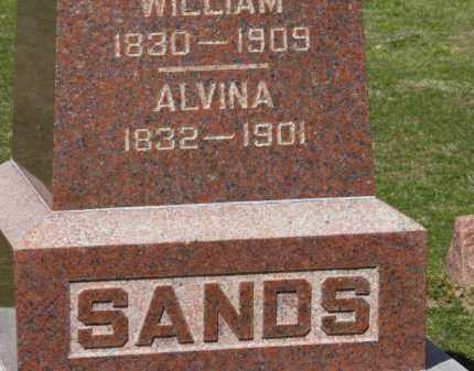 SANDS, WILLIAM - Erie County, Ohio | WILLIAM SANDS - Ohio Gravestone Photos