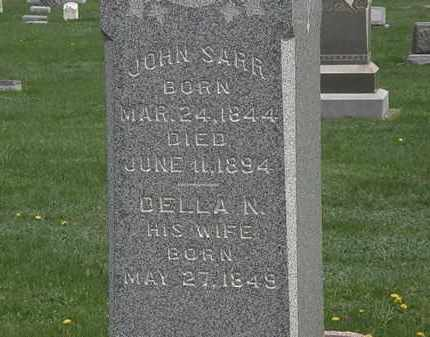 SARR, JOHN - Erie County, Ohio | JOHN SARR - Ohio Gravestone Photos