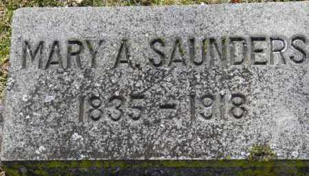 SAUNDERS, MARY A. - Erie County, Ohio | MARY A. SAUNDERS - Ohio Gravestone Photos