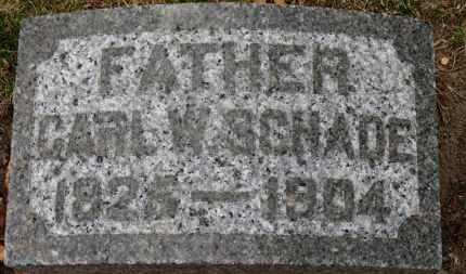 SCHADE, CARL W. - Erie County, Ohio | CARL W. SCHADE - Ohio Gravestone Photos