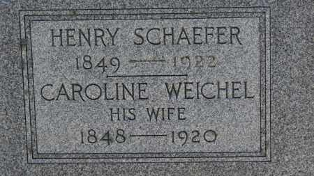 WEICHEL SCHAEFER, CAROLINE - Erie County, Ohio | CAROLINE WEICHEL SCHAEFER - Ohio Gravestone Photos