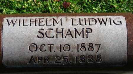 SCHAMP, WILHELM LUDWIG - Erie County, Ohio | WILHELM LUDWIG SCHAMP - Ohio Gravestone Photos