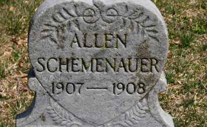 SCHEMENAUER, ALLEN - Erie County, Ohio | ALLEN SCHEMENAUER - Ohio Gravestone Photos