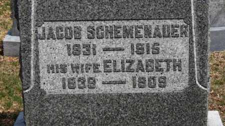 SCHEMENAUER, JACOB - Erie County, Ohio | JACOB SCHEMENAUER - Ohio Gravestone Photos