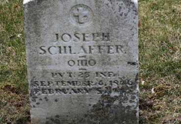 SCHLAFFER, JOSEPH - Erie County, Ohio | JOSEPH SCHLAFFER - Ohio Gravestone Photos