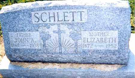 WUNDER SCHLETT,, ELIZABETH - Erie County, Ohio | ELIZABETH WUNDER SCHLETT, - Ohio Gravestone Photos