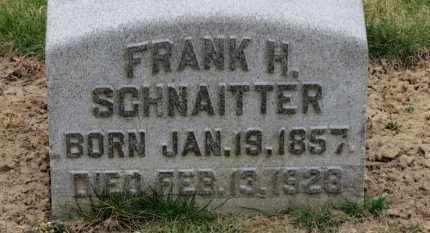 SCHNAITTER, FRANK H. - Erie County, Ohio | FRANK H. SCHNAITTER - Ohio Gravestone Photos