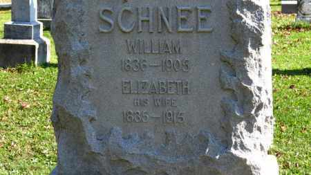 SCHNEE, WILLIAM - Erie County, Ohio | WILLIAM SCHNEE - Ohio Gravestone Photos
