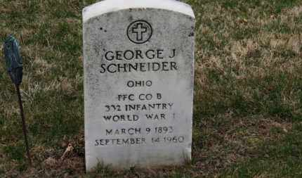 SCHNEIDER, GEORGE J. - Erie County, Ohio | GEORGE J. SCHNEIDER - Ohio Gravestone Photos