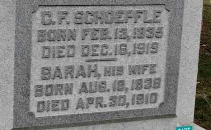 SCHOEPFLE, C.F. - Erie County, Ohio | C.F. SCHOEPFLE - Ohio Gravestone Photos