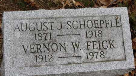 SCHOEPFLE, AUGUST J. - Erie County, Ohio | AUGUST J. SCHOEPFLE - Ohio Gravestone Photos