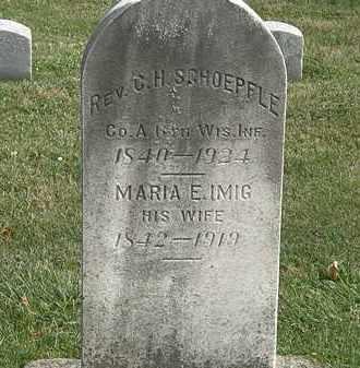 EMIG SCHOEPFLE, MARI E. - Erie County, Ohio | MARI E. EMIG SCHOEPFLE - Ohio Gravestone Photos