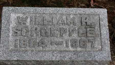 SCHOEPFLE, WILLIAM H. - Erie County, Ohio | WILLIAM H. SCHOEPFLE - Ohio Gravestone Photos