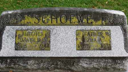 SCHOEWE, MATILDA - Erie County, Ohio | MATILDA SCHOEWE - Ohio Gravestone Photos