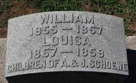 SCHOEWE, WILLIAM - Erie County, Ohio | WILLIAM SCHOEWE - Ohio Gravestone Photos