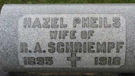 PHEILS SCHRIEMPF, HAZEL - Erie County, Ohio | HAZEL PHEILS SCHRIEMPF - Ohio Gravestone Photos