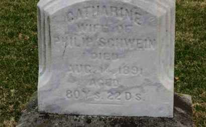 SCHWEIN, CATHARINE - Erie County, Ohio | CATHARINE SCHWEIN - Ohio Gravestone Photos