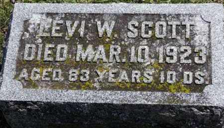 SCOTT, LEVI W. - Erie County, Ohio | LEVI W. SCOTT - Ohio Gravestone Photos