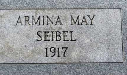 SEIBEL, ARMINA MAY - Erie County, Ohio | ARMINA MAY SEIBEL - Ohio Gravestone Photos