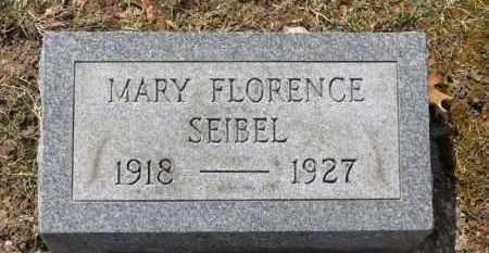 SEIBEL, MARY FLORENCE - Erie County, Ohio | MARY FLORENCE SEIBEL - Ohio Gravestone Photos
